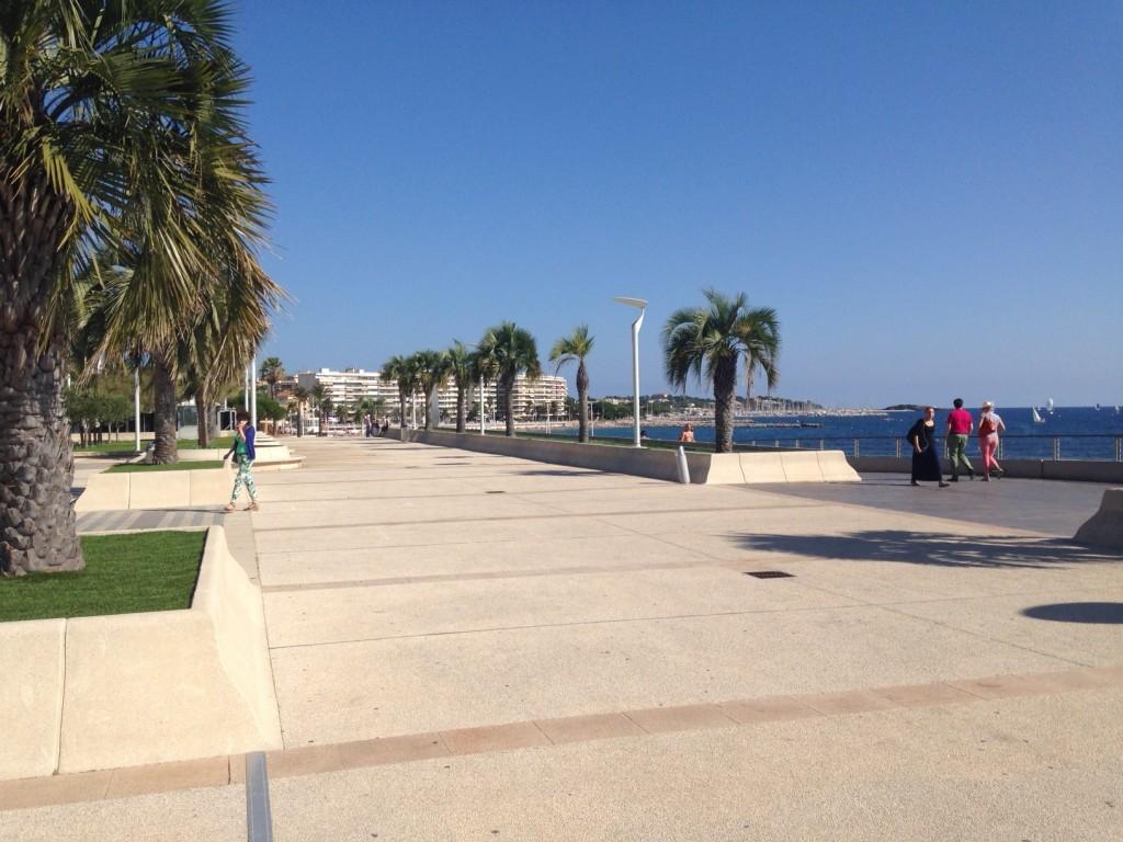 Une promenade au soleil très agréable !